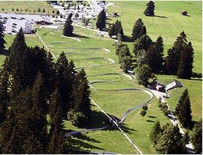 Tegelberg Luge Aerial View